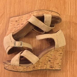 TOMS Wedge Sandals - Tags removed